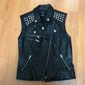 Forever21 Studded Leather Vest